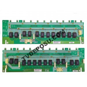 SONY, SSB520H24S01 REV 0.2 (RL), SSB520H24S01 REV 0.2 (LU), KDL-52V4000, LTY520HB10, 01572AC8224002A2, INVERTER BOARD