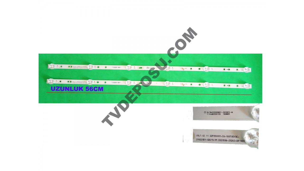 SJ.YM.D3200601-3030ES-M, 32D4001, TELENOVA LED BAR