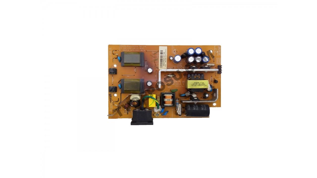 PI-190DTLB, 200-000-170DTLBM-CH REV: C, MONİTÖR BESLEME KARTI