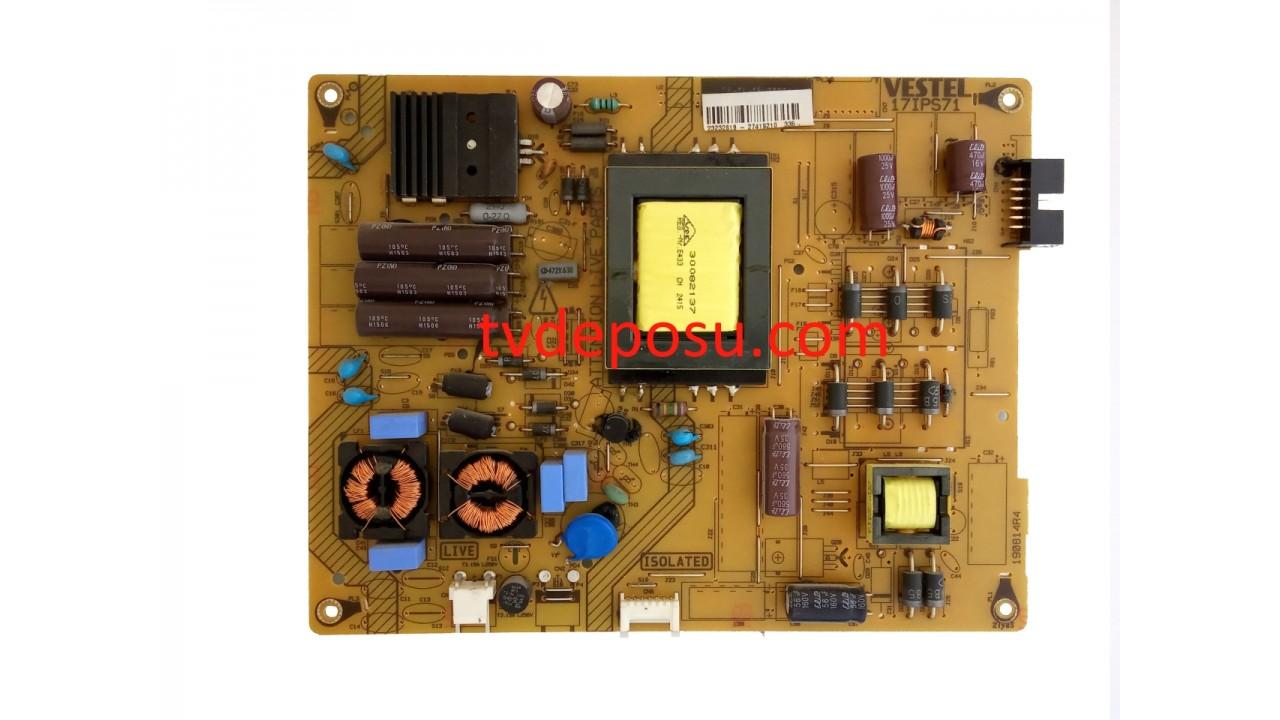 VESTEL, 17IPS71, 23232618, 42FA5100, POWER BOARD, BESLEME KARTI