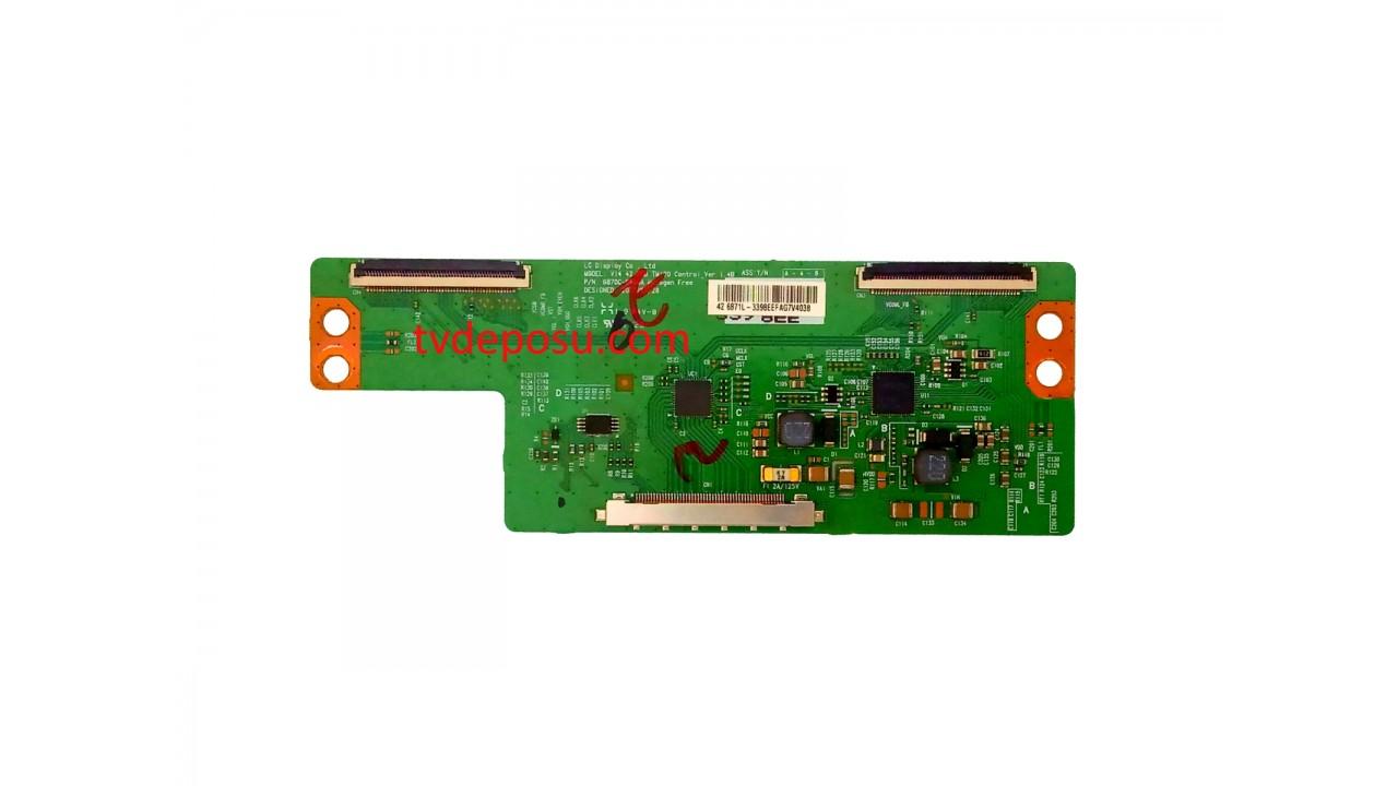 V14 42 DRD TM120 Control_Ver1.4B, 6870C-0469A, LG DİSPLAY, LC420DUJ-SGK1, LOGİC BOARD, T-CON BOARD